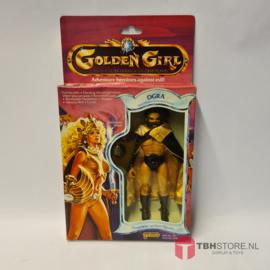 Golden Girl - Ogra Skull-Masked Barbarian Warlord