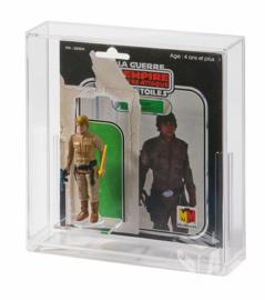 PRE-ORDER Vintage Star Wars Premium Cardback + Figuur Display Case (Meccano)