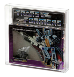 PRE-ORDER Hasbro Transformers G1 Jet MIB Acrylic Display Case