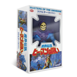 Masters of the Universe Vintage Collection Skeletor Japanese Box