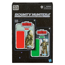 PRE-ORDER Star Wars Episode V Black Series 2-Pack Bounty Hunters 40th Anniversary Edition