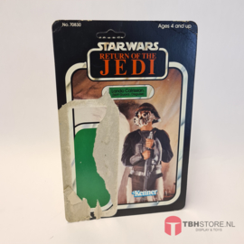 Vintage Star Wars Cardback Lando Calrissian Skiff Guard ROTJ