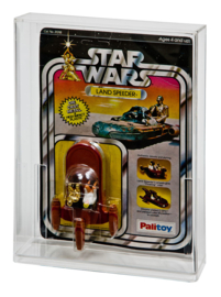 Star Wars & ESB Carded Die Cast Vehicle Display Case