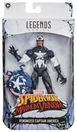 Spider-Man: Maximum Venom Marvel Legends Series Venomized Captain America