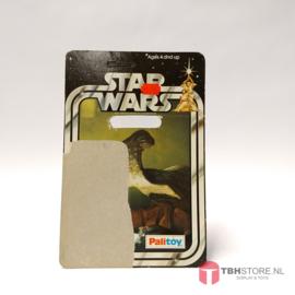 Vintage Star Wars Cardback Hammerhead SW 20 back Palitoy