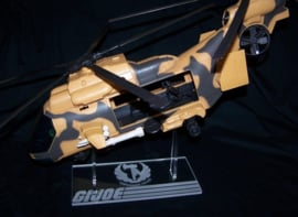 G.I. Joe Tomahawk - EagleHawk display stand