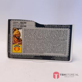 G.I. Joe File Card Voltar