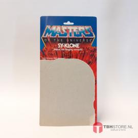 MOTU Masters of the Universe Cardback Sy-Klone