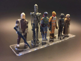 Bounty Hunters display stand