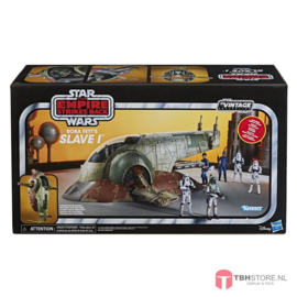 Star Wars Vintage Collection Boba Fett's Slave 1 BESCHADIGDE VERPAKKING