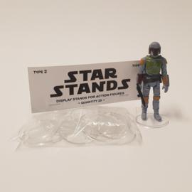 Vintage Star Wars 1,5 inch display stands 20 stuks