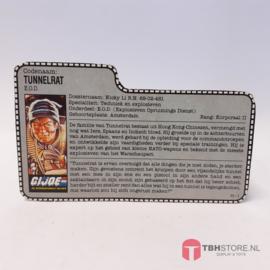 G.I. Joe File Card Tunnelrat