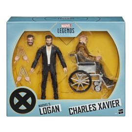 Marvel Legends 2-Pack Marvel's Logan & Charles Xavier Exclusive