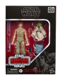 PRE-ORDER Star Wars Episode V Black Series 2-Pack 2020 Luke Skywalker and Yoda (Jedi Training)