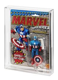 PRE-ORDER ToyBiz Marvel Super Heroes & DC Comics Acrylic Display Case
