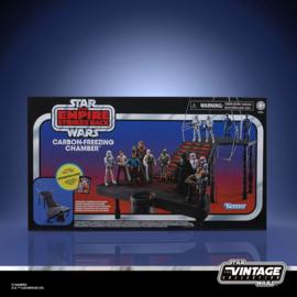 PRE-ORDER Star Wars Episode V Vintage Collection Carbon-Freezing Chamber with Stormtrooper Action Figure