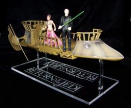 Vintage Skiff Ship Stand