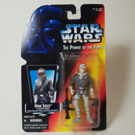 Star Wars POTF2: Han Solo in Hoth Gear