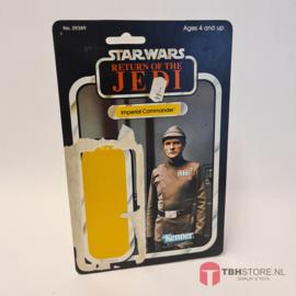 Vintage Star Wars Cardback Imperial Commander ROTJ