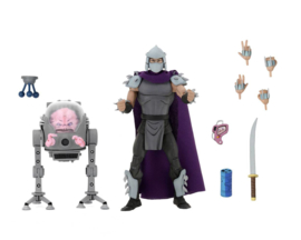 Teenage Mutant Ninja Turtles (TMNT) 2-Pack Shredder vs Krang in Bubble Walker 18 cm