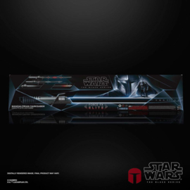 PRE-ORDER Star Wars The Mandalorian Black Series Replica 1/1 Force FX Elite Lightsaber Mandalorian Darksaber