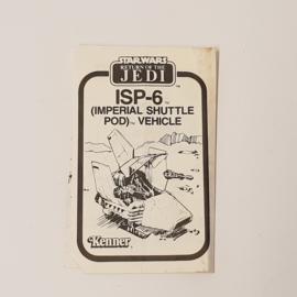ISP-6 instructies