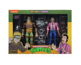 Teenage Mutant Ninja Turtles 2-Pack Rat King & Vernon