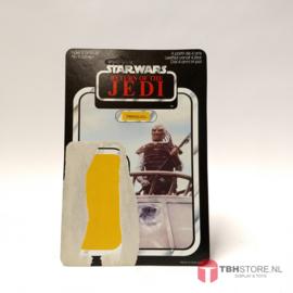 Vintage Star Wars Cardback Weequay ROTJ 65 back