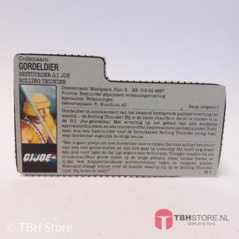 G.I. Joe File Card Gordeldier