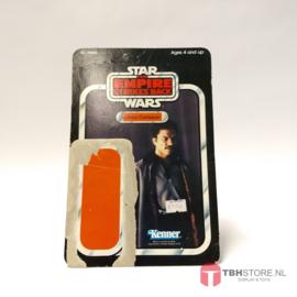 Vintage Star Wars Cardback Lando Calrissian ESB31 back