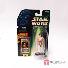 Star Wars POTF2 Green: Princess Leia with FlashBack Photo