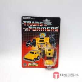 Transformers Bumblebee met kaart