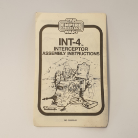 INT-4 (ESB) instructies