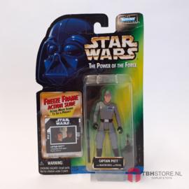 Star Wars POTF2 Green: Captain Piett (Freeze Frame)