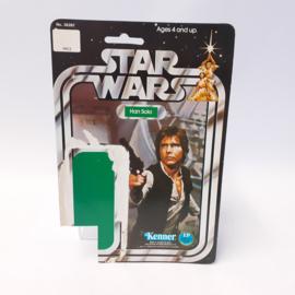 Vintage Star Wars Cardback Han Solo 20 back