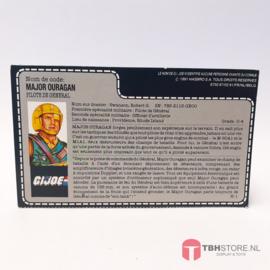G.I. Joe File Card Major Ouragan