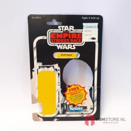 Vintage Star Wars Cardback AT-AT Driver 41 back