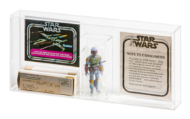 Star Wars Boba Fett Mailer Display Case