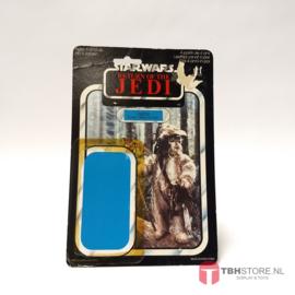 Vintage Star Wars Cardback Logray ROTJ 65 back
