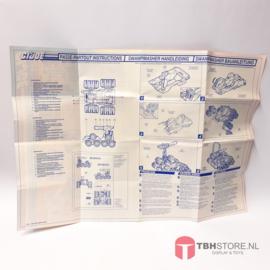G.I. Joe Swampmasher Handleiding / Promo advertentie