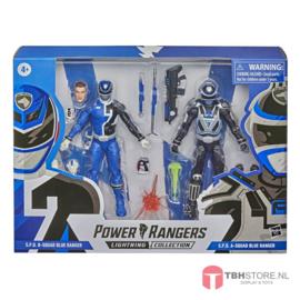 Power Rangers Lightning Collection S.P.D. B-Squad Blue Ranger vs. S.P.D. A-Squad Blue Ranger