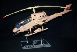 G.I. Joe Dragonfly in flight display stand