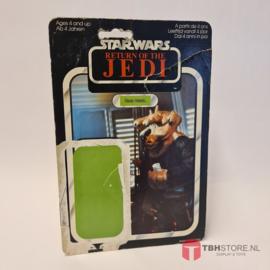 Vintage Star Wars Cardback Ree-Yees ROTJ