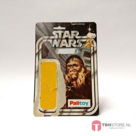 Vintage Star Wars Cardback Chewbacca SW 12 back Palitoy