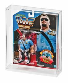 Hasbro WWF Carded Figure Acrylic Display Case (A)