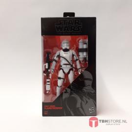 Star Wars Black Series First Order Flametrooper  #16 (open)
