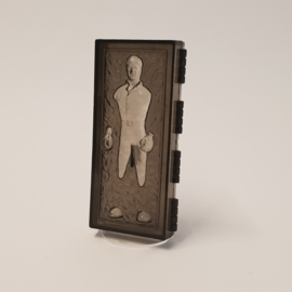 Clear Han Solo POTF Carbonite Block stand