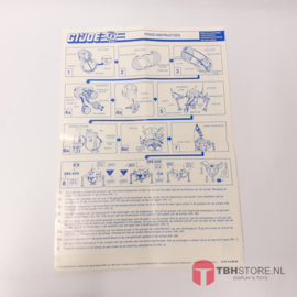 G.I. Joe Pogo Instructies