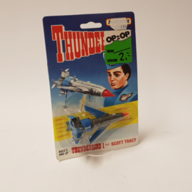 Thunderbird 1 Pilot Scott Tracy MOC