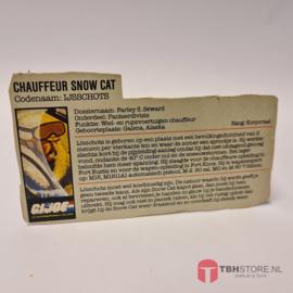G.I. Joe File Card IJsschots